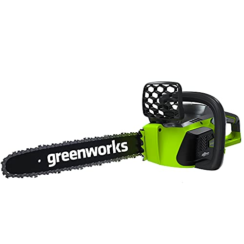 Greenworks 40V 16-Inch Cordless Chainsaw, Tool Only, 20322