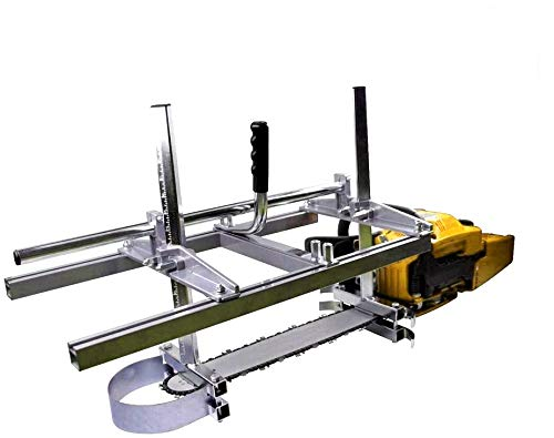 Carmyra Portable Chainsaw Mill 36 Inches Planking Milling Bar Size 14 Inches to 36 Inches