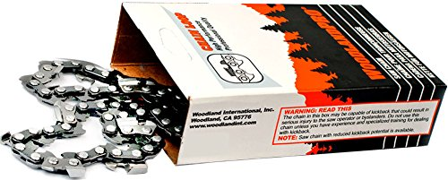"""WoodlandPRO 16"""" Carbide Chainsaw Chain Loop (63CB-56 Drive Links) WPL 63CB56"""