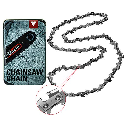 """Upgrade Chainsaw Chain for 16-Inch Bar with Alloy Cutter Head - SG-S56, 3/8"""" LP Pitch - .050"""" Gauge - 56 Drive Links, Compatible with Craftsman/Sears, Echo, Homelite, McCulloch, Worx, Chicago"""