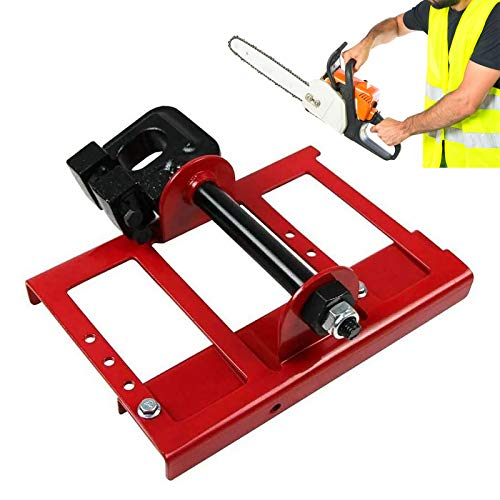 HVUE Vertical Chainsaw Mill Lumber Cutting Guide Saw Steel Timber Chainsaw Attachment Cut Guided Mill Wood for Builders and Woodworkers