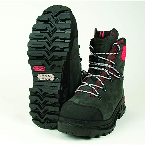 Oregon Boots, Leather Chainsaw Na, Size 10 Part # 295450-10